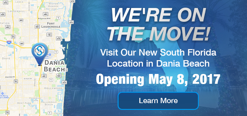 We're On The Move - Visit Our New South Florida Location in Dania Beach - Opening May 8, 2017