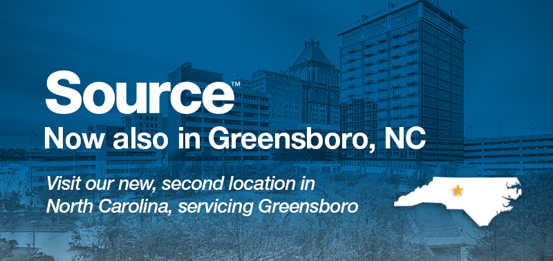 Now also in Greensboro - Visit Our New North Carolina Location in Greensboro